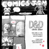 Thumbnail image for Wed April 15: D&amp;D Comics Jam!