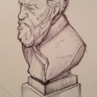 Thumbnail image for Sketch from Drink n' Draw Part Deux
