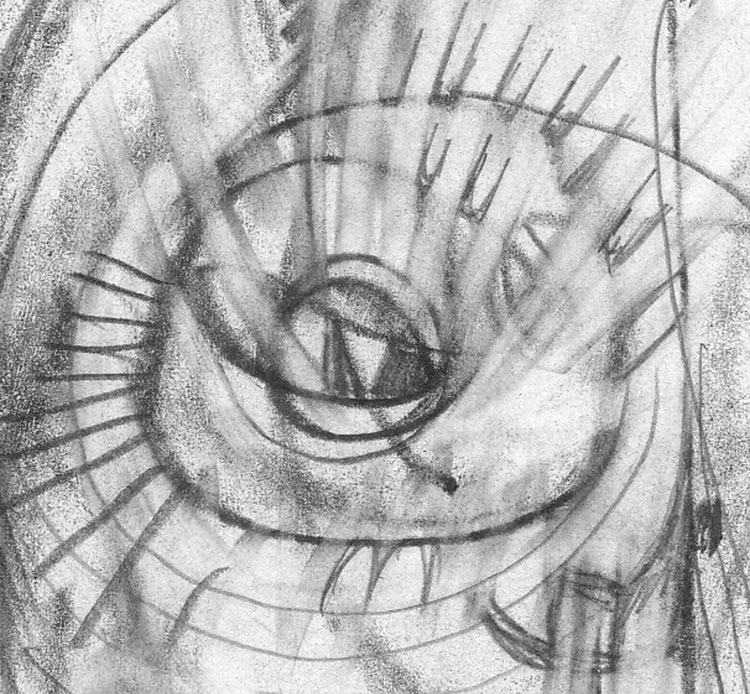 New pencil drawings by billy mavreas inside the face may 13