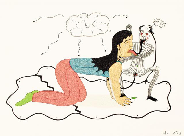 Post image for Inuit artist Annie Pootoogook homeless in Ottawa