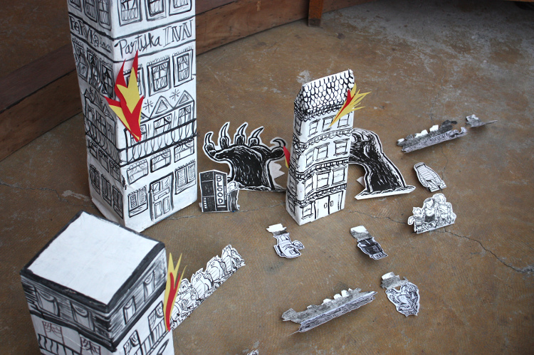 Post image for PARTYKA: The Paper Inferno (Until June 30)