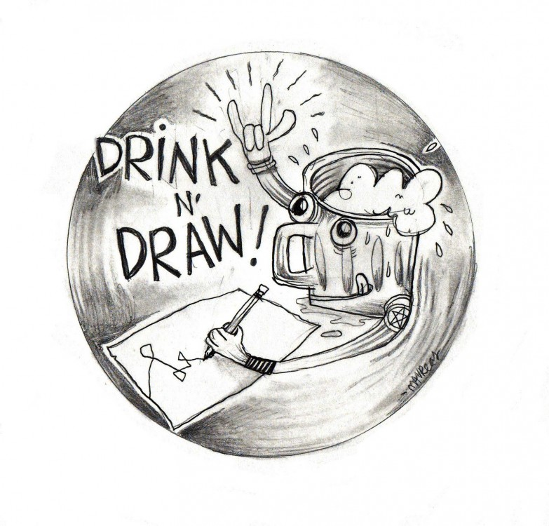 Post image for Return of the Drink & Draw! July 15 juillet